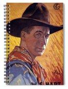 William Surrey Hart Spiral Notebook
