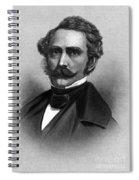 William T. G. Morton, American Dentist Spiral Notebook