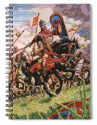 William The Conqueror At The Battle Of Hastings Spiral Notebook