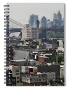 Williamsburg Bridge Spiral Notebook