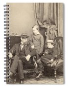 Willie & Tad Lincoln, 1862 Spiral Notebook