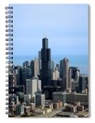 Willis Sears Tower 02 Chicago Spiral Notebook