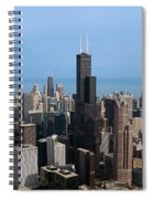Willis Sears Tower 03 Chicago Spiral Notebook