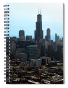 Willis Sears Tower 04 Chicago Spiral Notebook