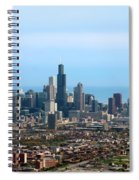Willis Sears Tower 05 Chicago Spiral Notebook