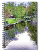 Williston Mill Stream Spiral Notebook