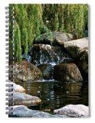 Willow Falls Spiral Notebook