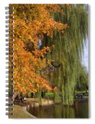 Willow In The Garden Spiral Notebook