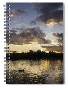Wimbledon Sunset Spiral Notebook