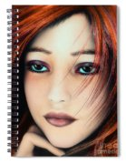Wind And Fire Spiral Notebook