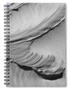 Wind Creation Bw Spiral Notebook
