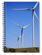 Wind Farm I Spiral Notebook