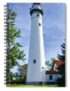 Wind Point Lighthouse Spiral Notebook