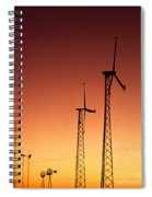 Wind Power For Agriculture Spiral Notebook