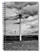 Wind Turbines Mono Spiral Notebook