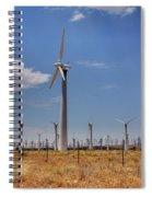 Windblown II Spiral Notebook
