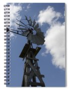 Windmill 4 Spiral Notebook