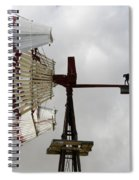Windmill 9 Spiral Notebook