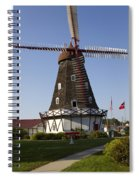 Windmill Danish Style 1 A Spiral Notebook