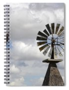 Windmills 5 Spiral Notebook