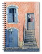 Window And Doors Provence France Spiral Notebook
