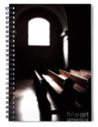 Window And Pews Spiral Notebook