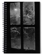 Window At Castle Frankenstein Spiral Notebook