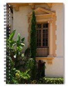 Window At The Biltmore Spiral Notebook
