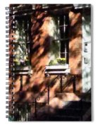 Window Boxes Greenwich Village Spiral Notebook