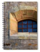 Window Detail At Carmel Spiral Notebook