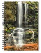 Window Falls Cascade Spiral Notebook