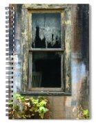 Window In Old Wall Spiral Notebook