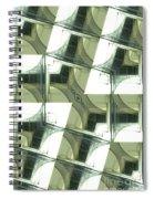 Window Mathematical  Spiral Notebook