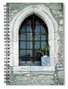 Window Of A Chapel Spiral Notebook