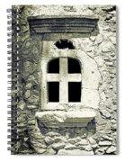 Window Of Stone Spiral Notebook