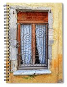 Window Provence France Spiral Notebook