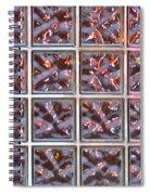 Window Sunglow Spiral Notebook