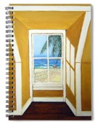 Window To The Sea No. 3 Spiral Notebook
