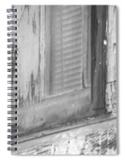 Window With Screen Spiral Notebook