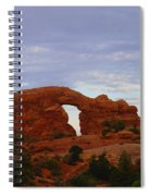 Windows Arch Spiral Notebook