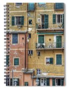 Windows Of Camogli Spiral Notebook