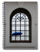 Windows On The Beach Spiral Notebook