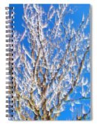 Winds Upon The Branchs II Spiral Notebook