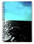 Windsurfing Greece Spiral Notebook