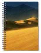Death Valley Windswept 2 Spiral Notebook