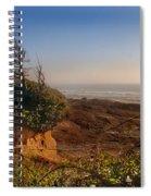 Windswept Coast Spiral Notebook