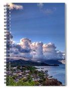 Windward Clouds Spiral Notebook