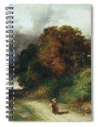 Windy Hilltop Spiral Notebook