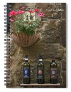 Wine A Bit Spiral Notebook