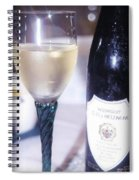 Wine And Dine Spiral Notebook